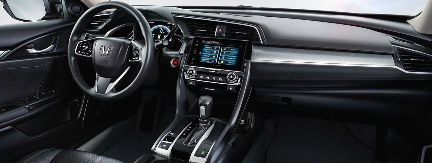Cabin-equipped Technology Inside the Civic