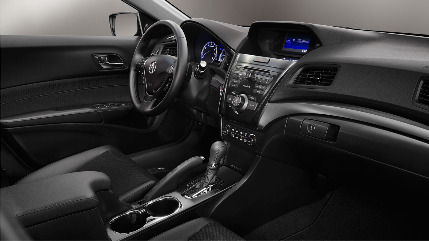 Refined Cabin of the ILX