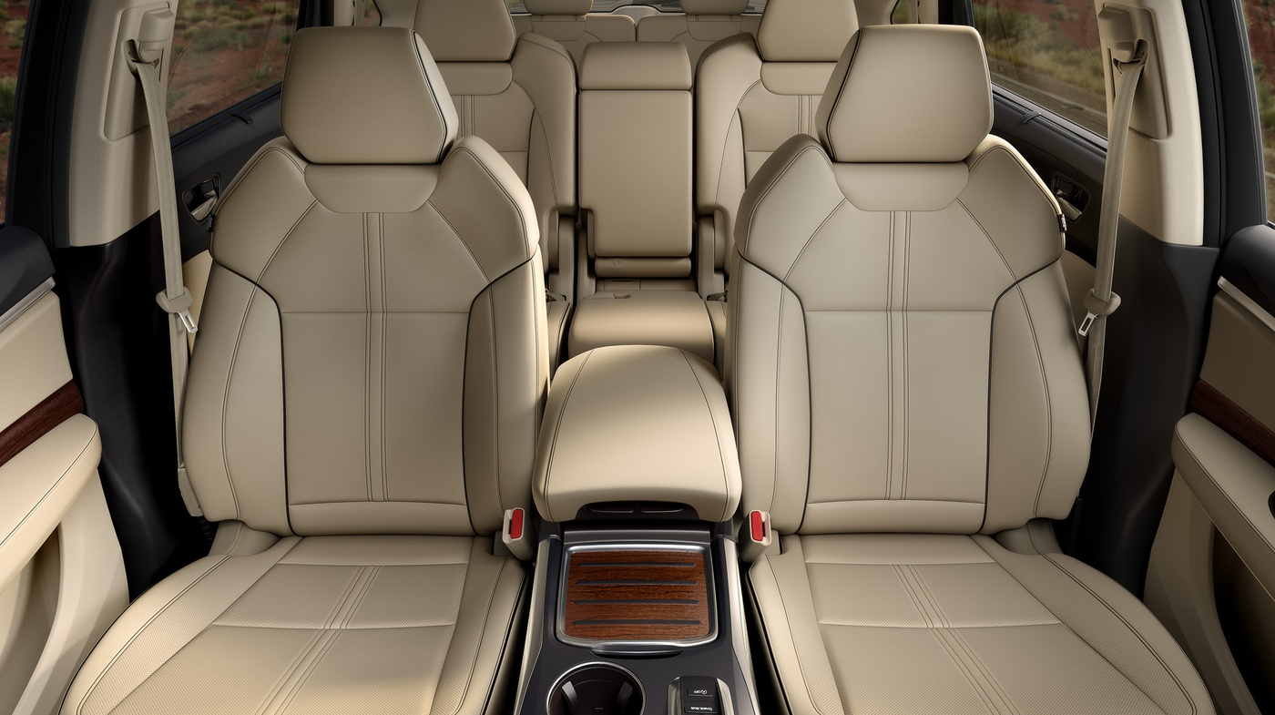 7-passenger Cabin of the Acura MDX
