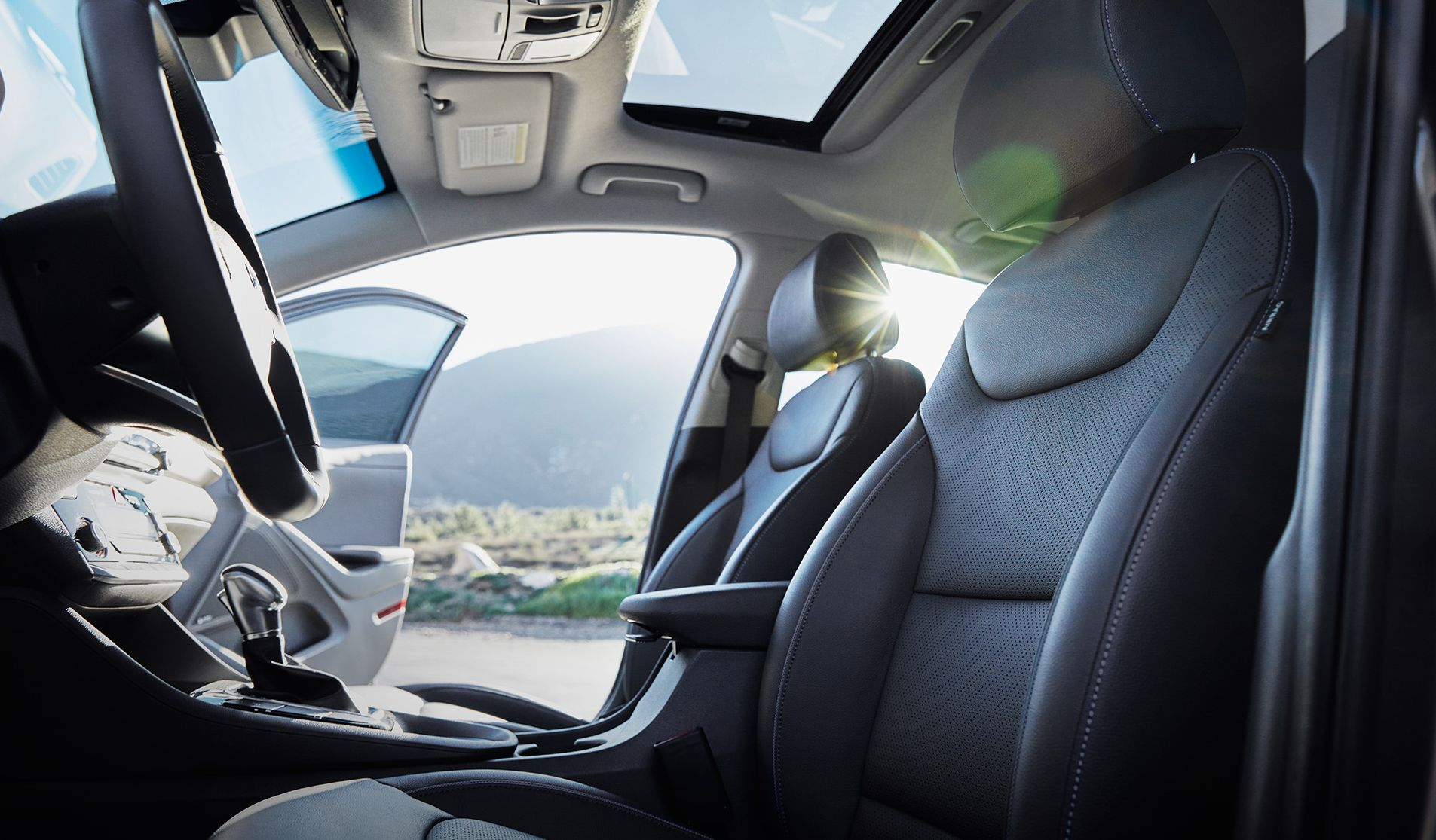 Comfortable Seating in the Hyundai Ioniq Hybrid