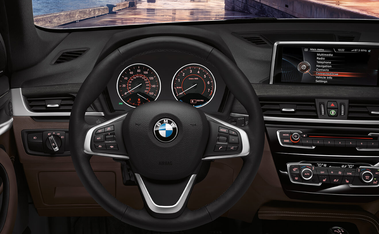 2017 BMW X1 XDrive28i With Dakota Leather Mocha Interior