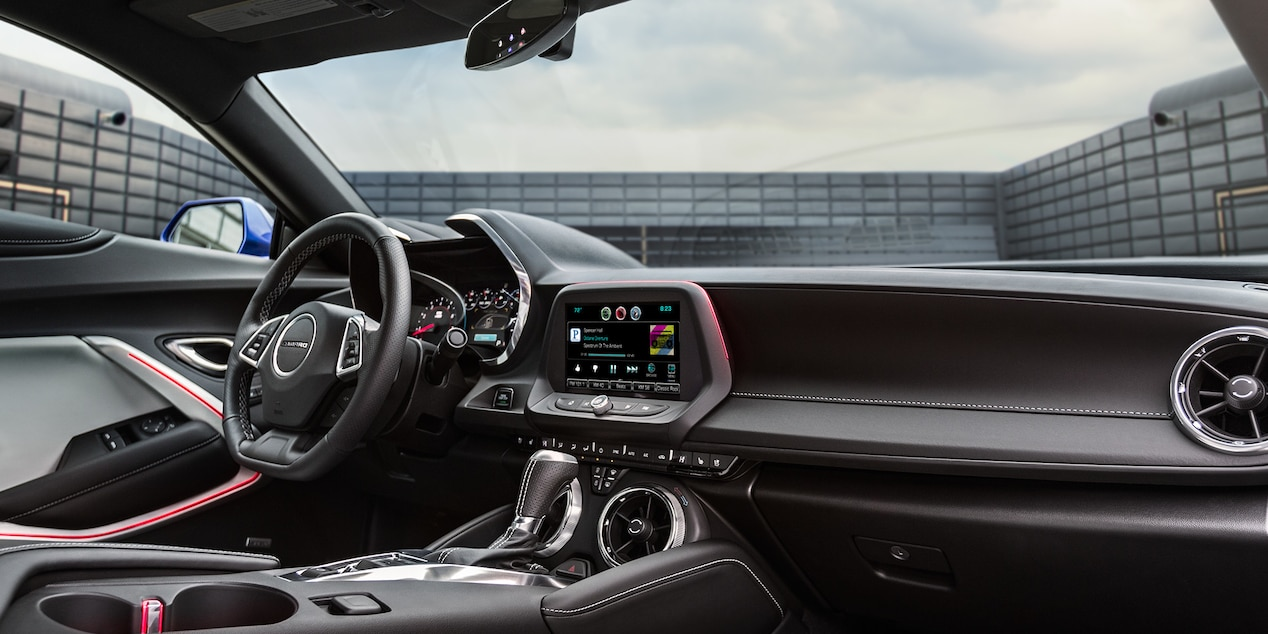 The Interior of the 2017 Camaro