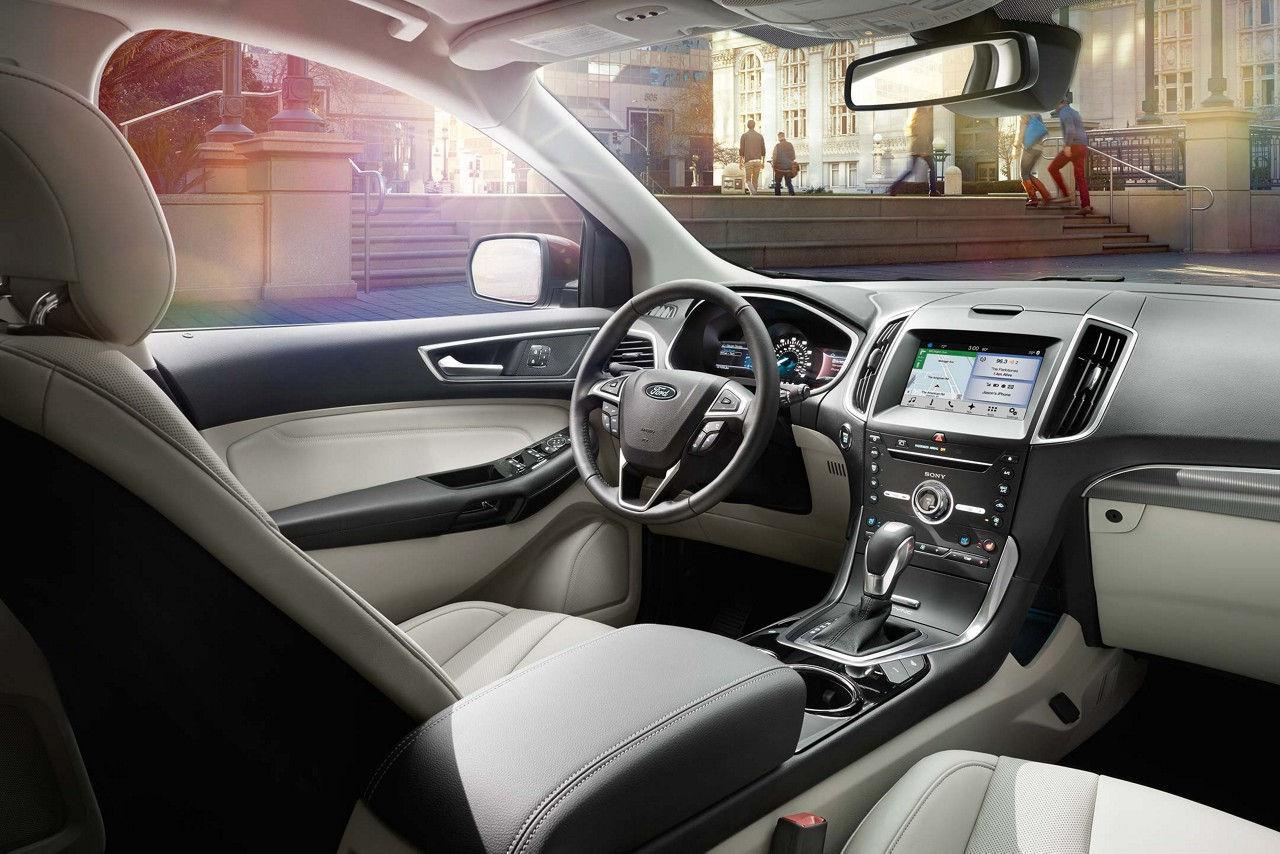 Ford Edge Titanium Interior In Ceramic