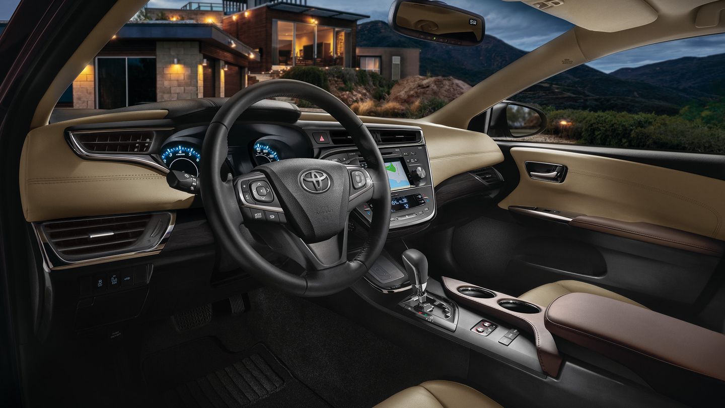 Luxurious Cabin of the Toyota Avalon
