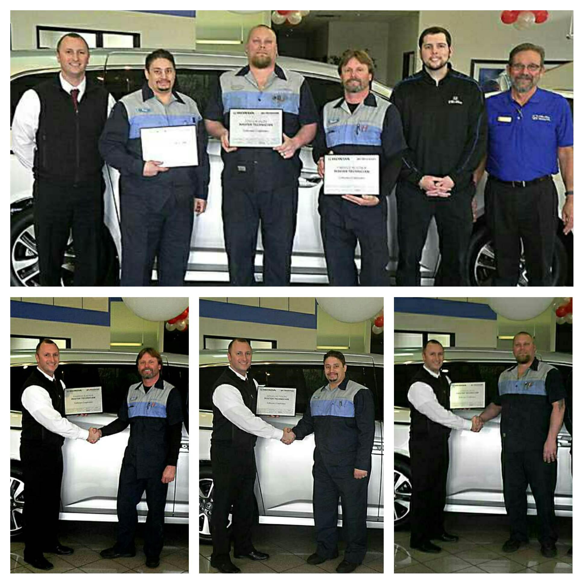 Cleo Bay Honda >> Our Master Techs Cleo Bay Honda