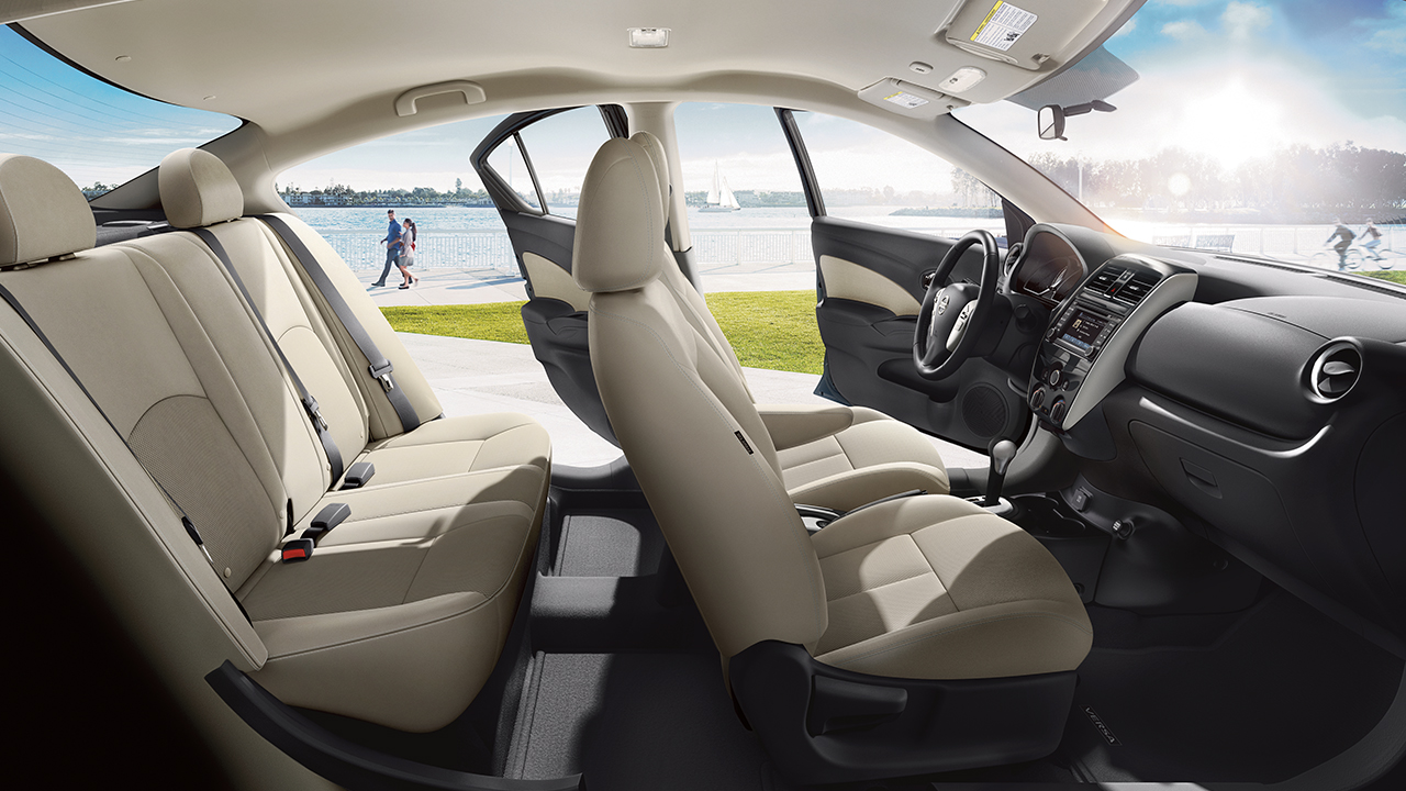 The Nissan Versa's Spacious Interior