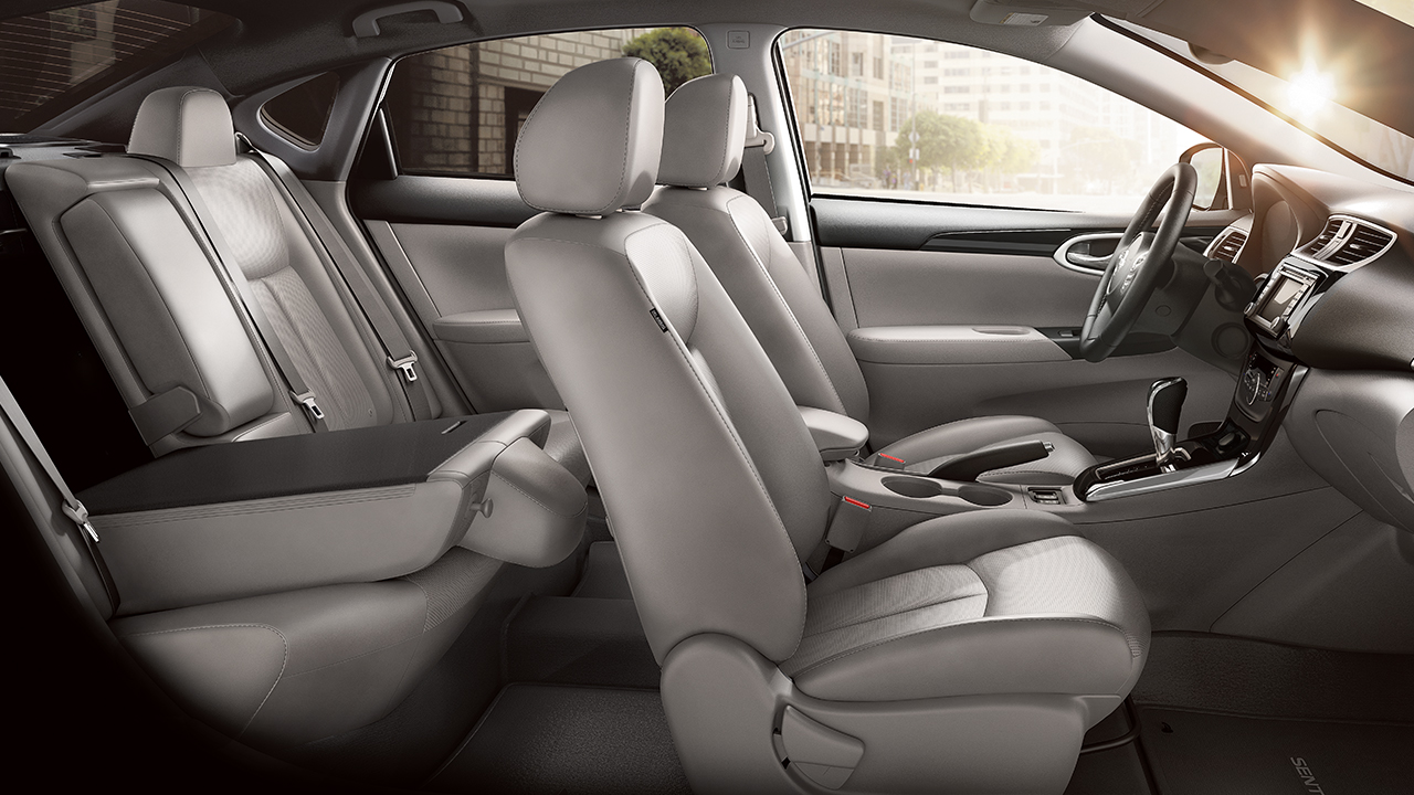 Nissan Sentra Owners Manual: Three-point type seat belt with retractor