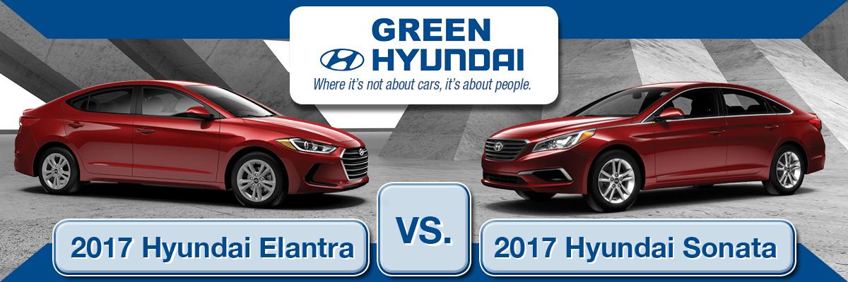 Sonata Vs Elantra >> 2017 Hyundai Elantra Vs 2017 Hyundai Sonata What Are The