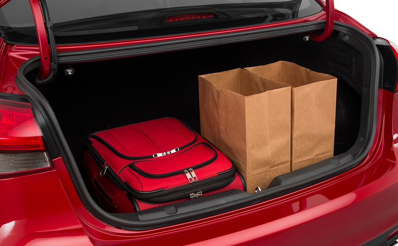Spacious Trunk Volume of the Forte