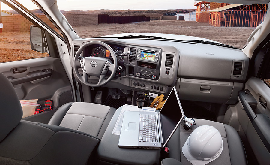 2017 Nissan NV Cargo Interior