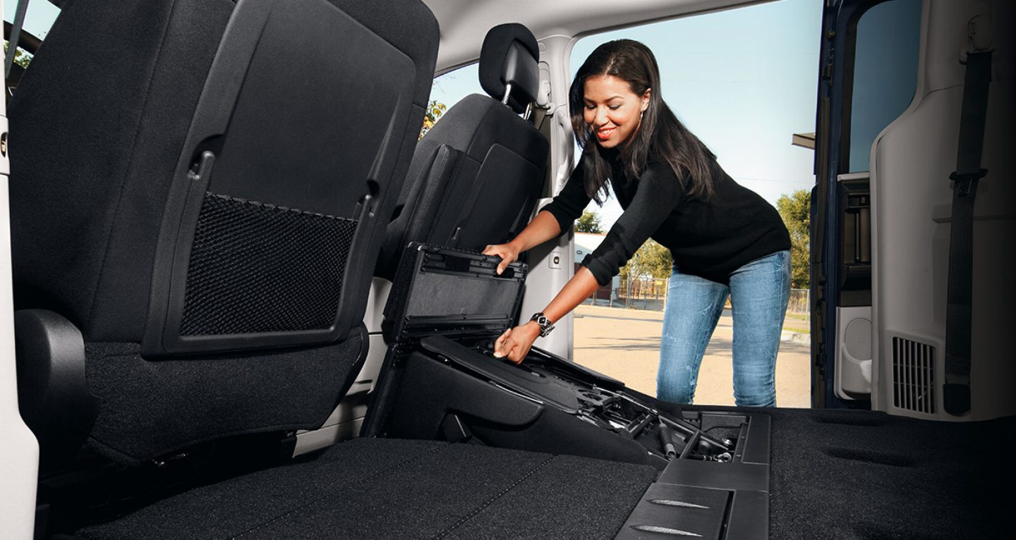 Plenty of Storage Space in the Grand Caravan!