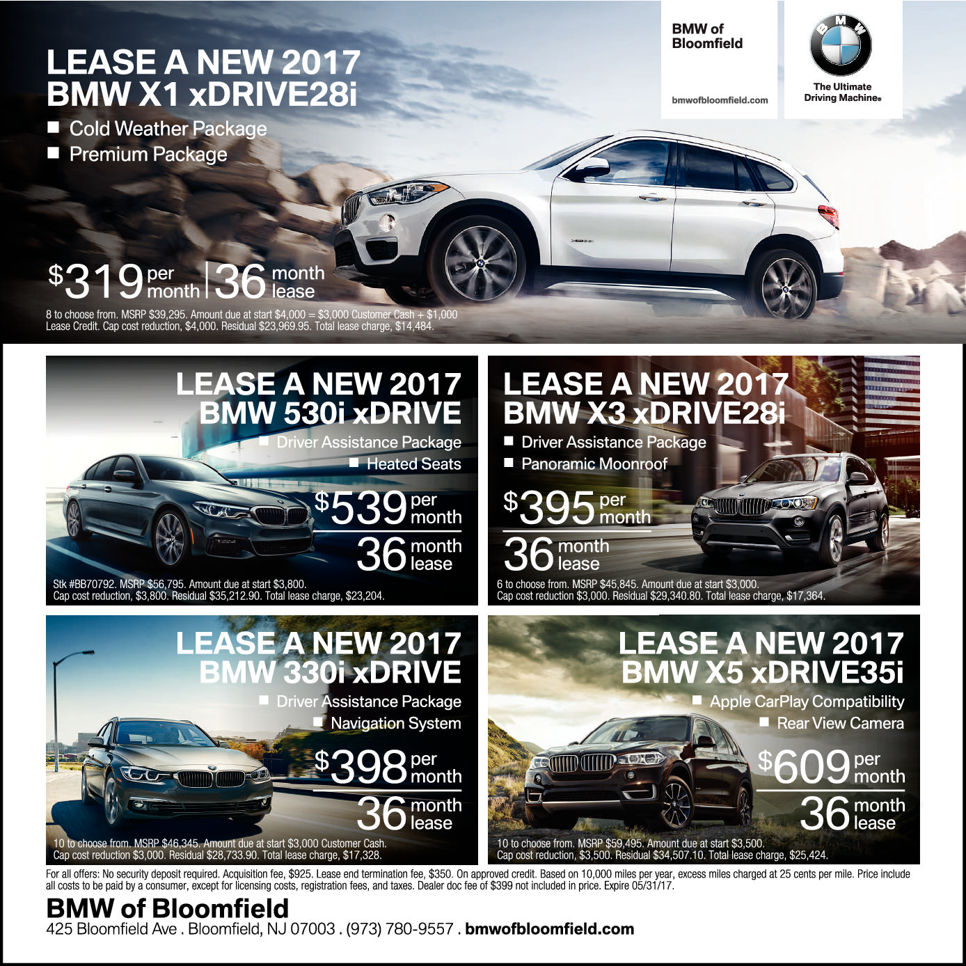 Current Ads Bmw Of Bloomfield