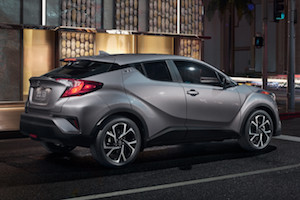 Exterior of the 2018 Toyota C-HR