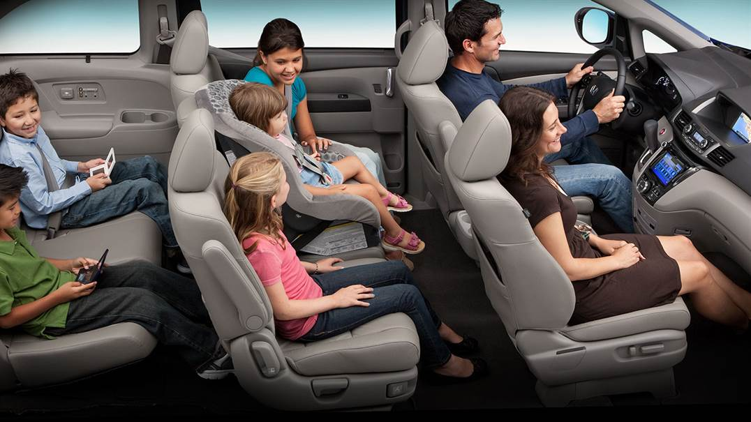 There's Room for Everyone in the Honda Odyssey!