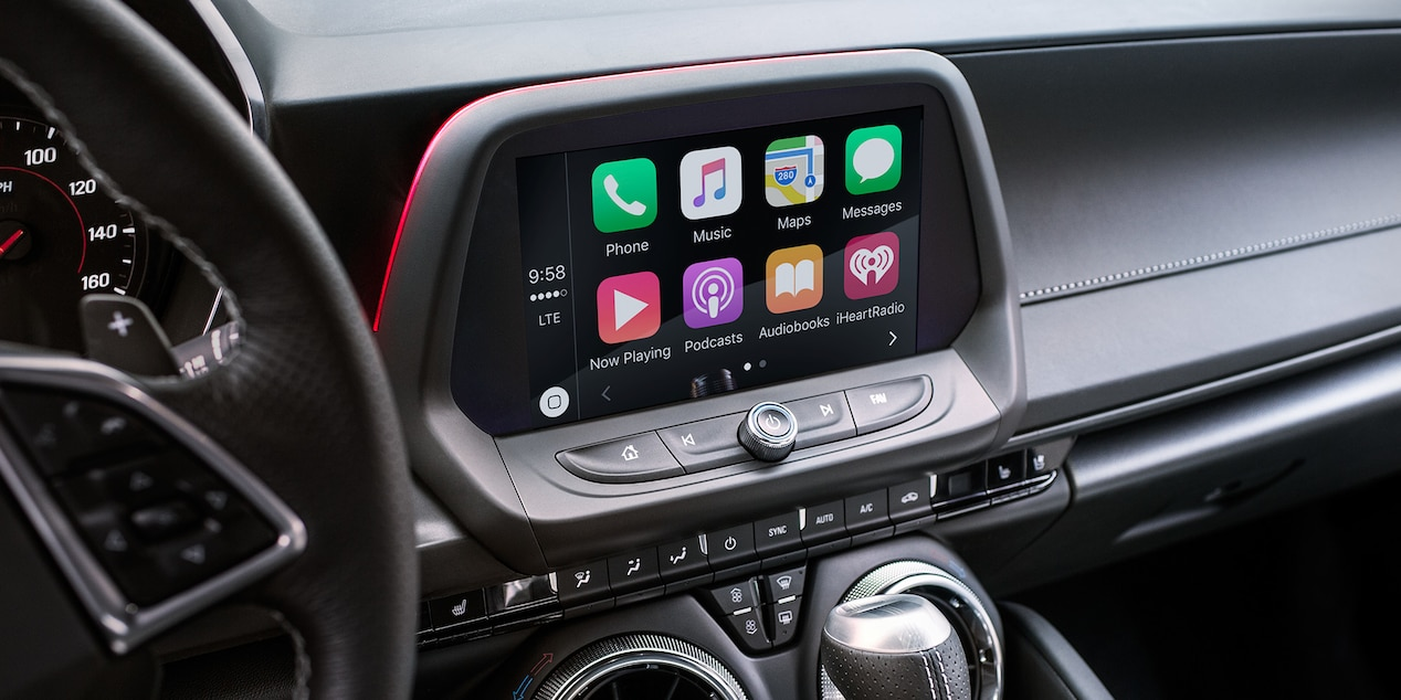 7-inch Touchscreen in the Camaro