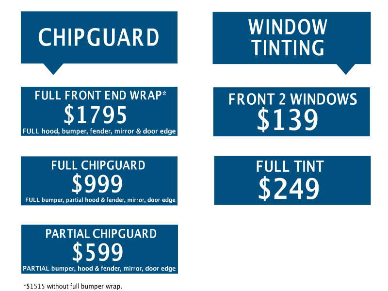 Window Tinting & Chipguard Exclusive Offer!-Vern Eide Auto ...
