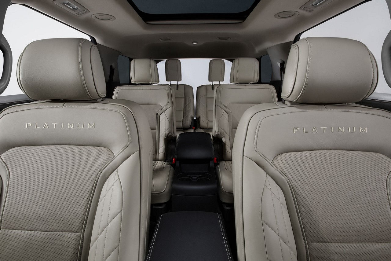 Interior of the Ford Explorer