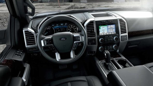 Luxurious Interior of the 2017 Ford F-150