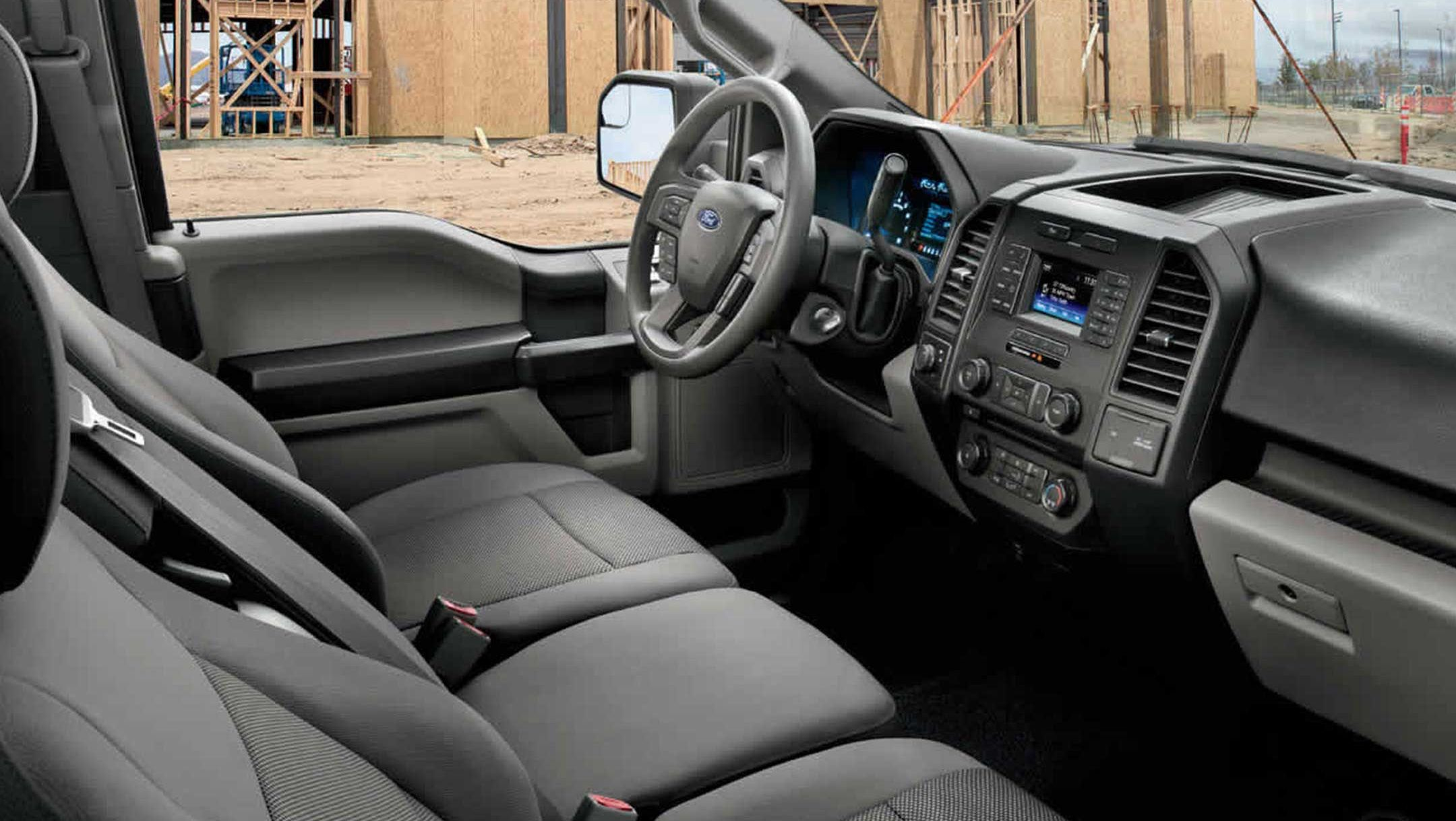 Upscale Interior of the 2017 F-150