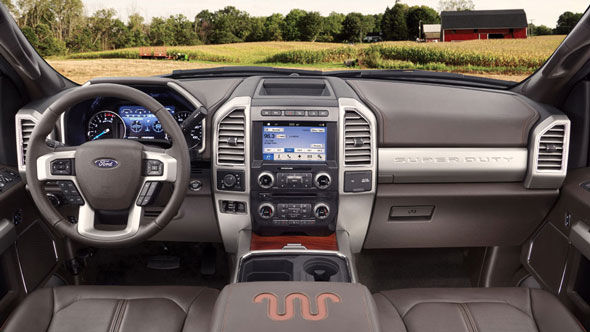 Stay Connected in the Ford F-350 Super Duty