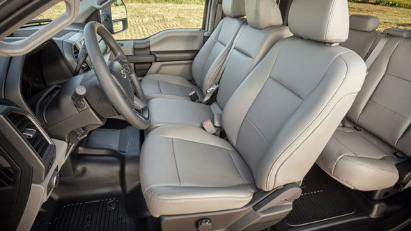 Stretch Out in the Plush Seats of the F-350 Super Duty
