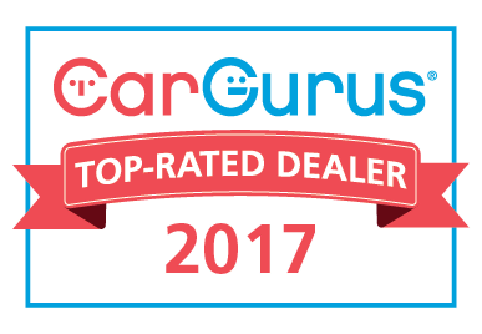 We Are A CarGurus Top Rated Dealer