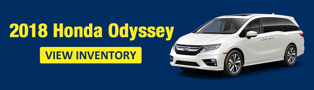 2018 Honda Odyssey Orange County