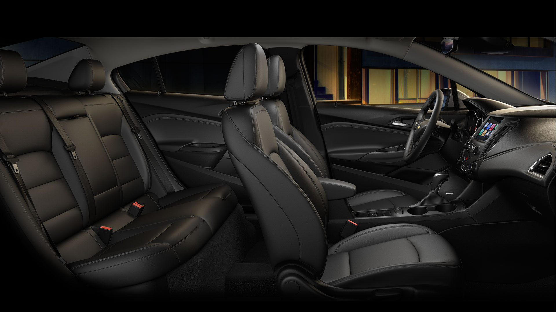 Space for Everyone Inside the Cruze!