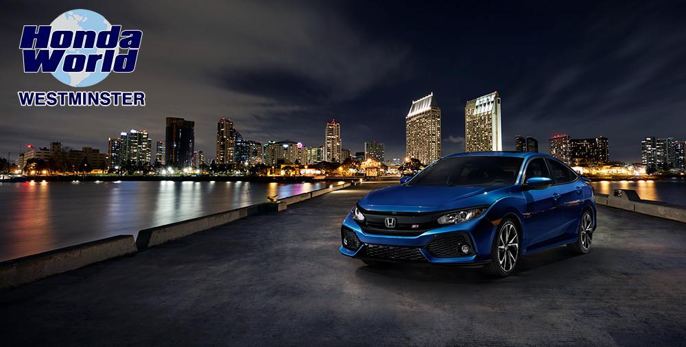 2017 Honda Civic Si Sedan Orange County Anaheim Santa Ana Buena Park