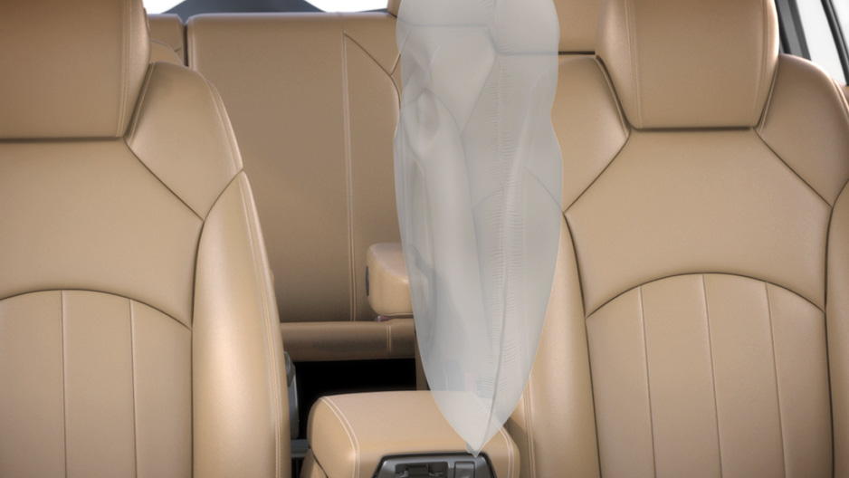 Front Center Airbag in the Buick Enclave