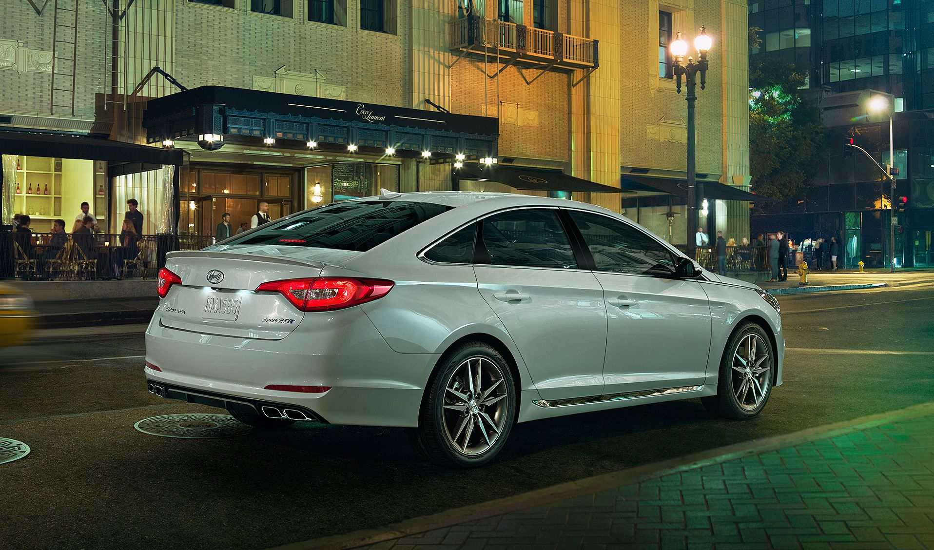 Exciting Exterior of the Sonata
