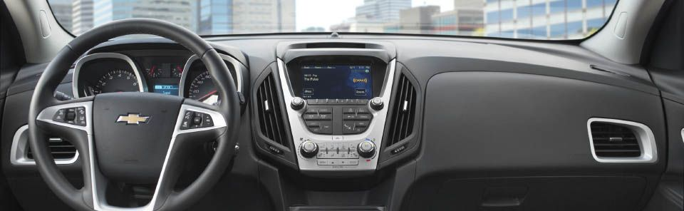 2017 Chevy Equinox Center Console
