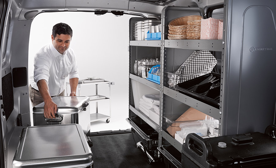 Storage Capability in the NV200 Compact Cargo Van