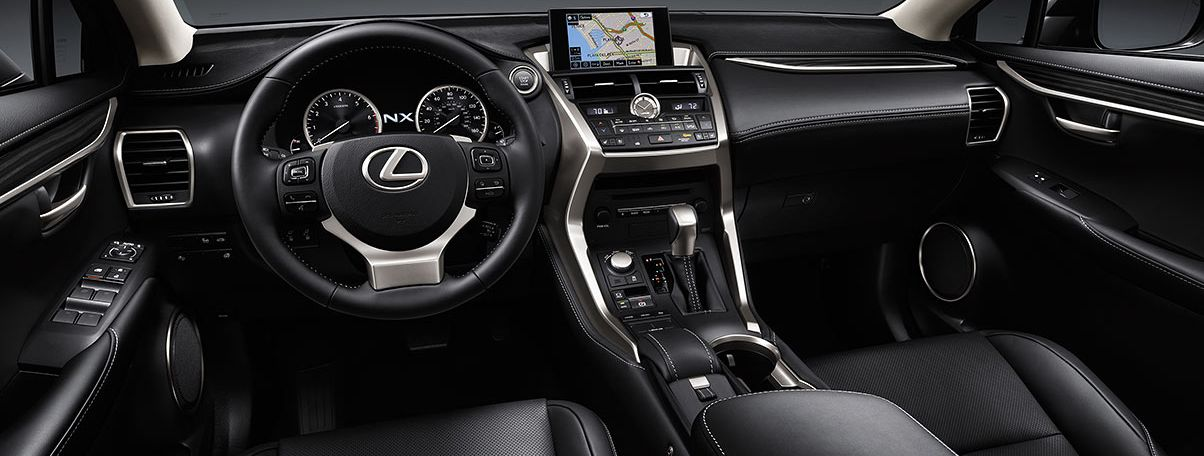 Leather-Trimmed Steering Wheel in the 2017 NX 200t
