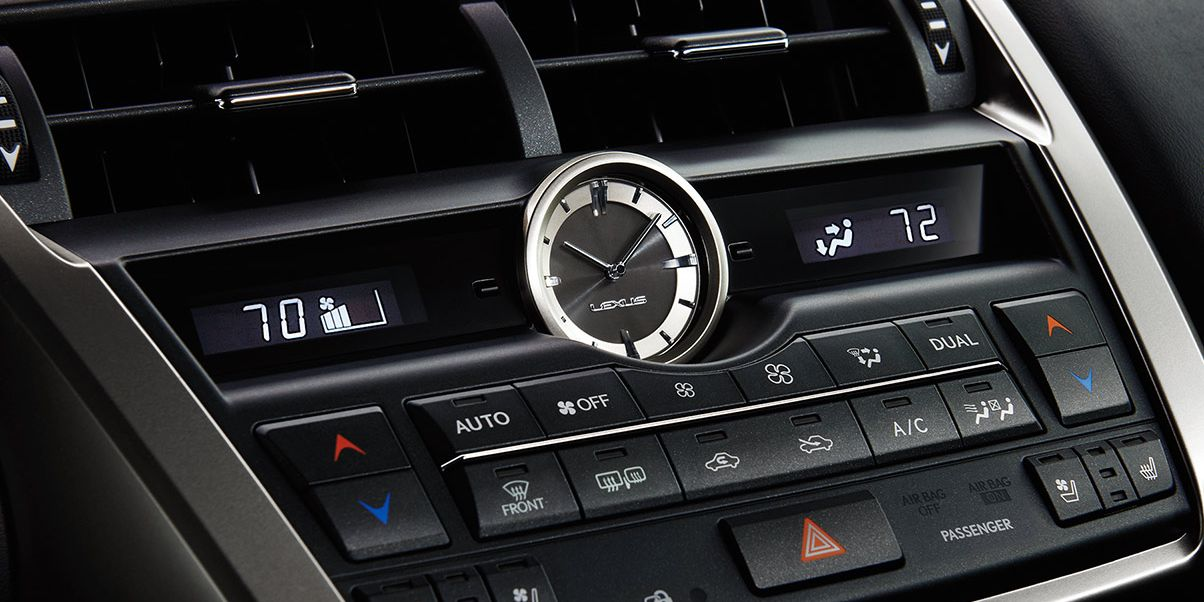 Convenience Features in the Lexus NX 200t