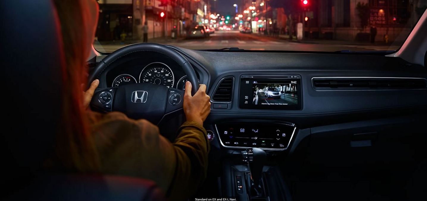 Honda LaneWatch™ on the 7-inch Touchscreen