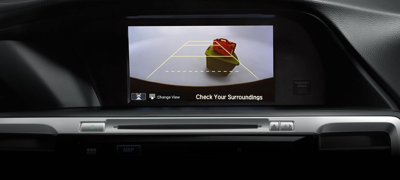 2017 Accord with the Multi-Angle Rearview Camera
