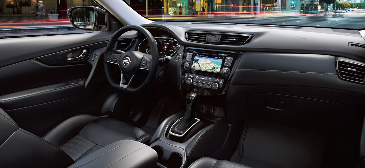 Suave Interior of the 2017 Rogue