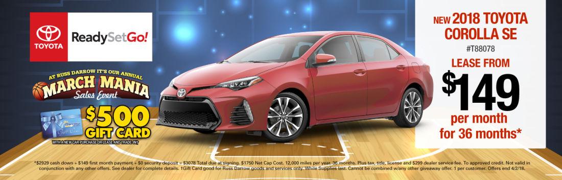 Toyota West Bend WI Russ Darrow Toyota New Used Car Dealer - Toyota dealers wisconsin
