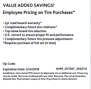 Added Savings : 2 year rd Hazard  : Warranty  : Only at Acura of Maui