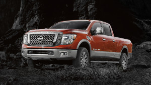 2016 Nissan Titan Xd Front Profile Forged Copper