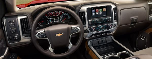 Silverado Dashboard and Steering wheel