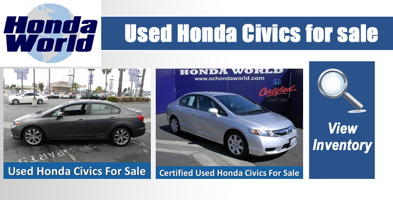 Used Honda Civic For Sale Orange County
