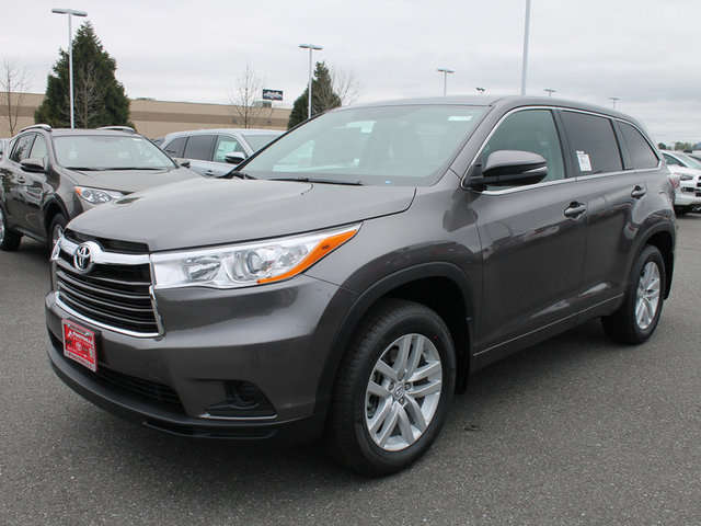 Toyota Highlander in Snohomish at Foothills Toyota