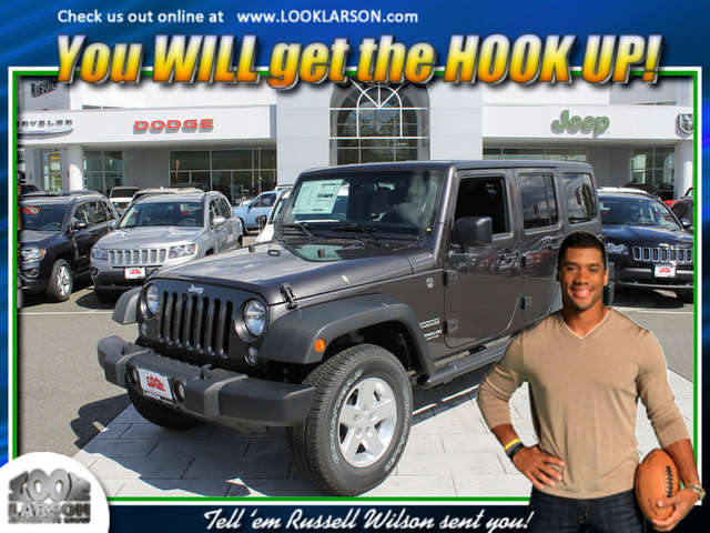 2014 Jeep Wrangler Unlimited near Tacoma at Larson Chrysler Jeep Dodge Ram