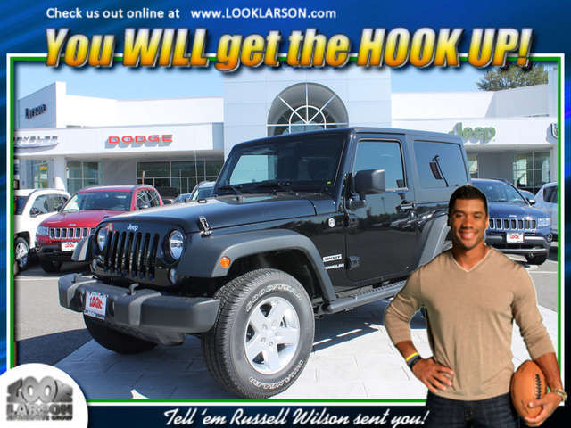 2014 Jeep Wrangler near Tacoma at Larson Chrysler Jeep Dodge Ram