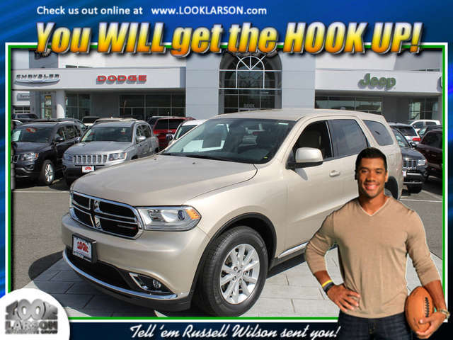 Finance a 2014 Durango near Puyallup at Larson Chrysler Jeep Dodge Ram
