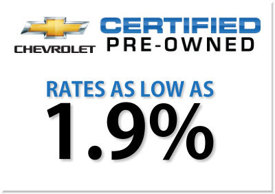 Exceptional Chevrolet Certified Pre Owned Vehicle Program