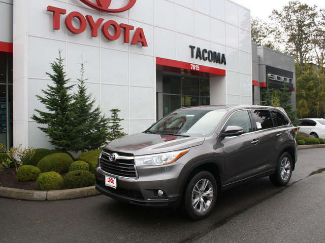 Toyota Of Tacoma >> 2015 Toyota Highlander For Sale In Tacoma Toyota Of Tacoma