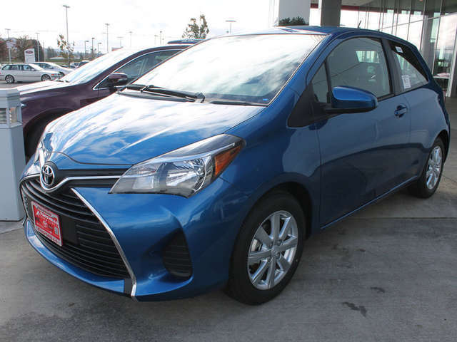 2015 Toyota Yaris in Burlington at Foothills Toyota